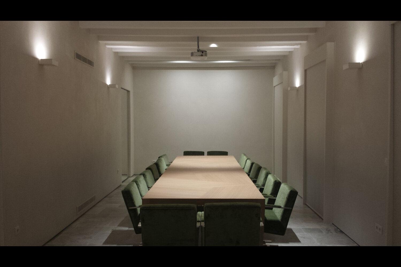 Pablo barone sala comedor oficinas madrid caser seguros iluminaci n 2016 - Oficinas la caixa bilbao ...